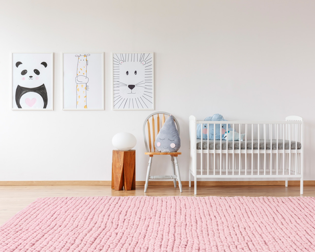 baby room colorful oriental rugs