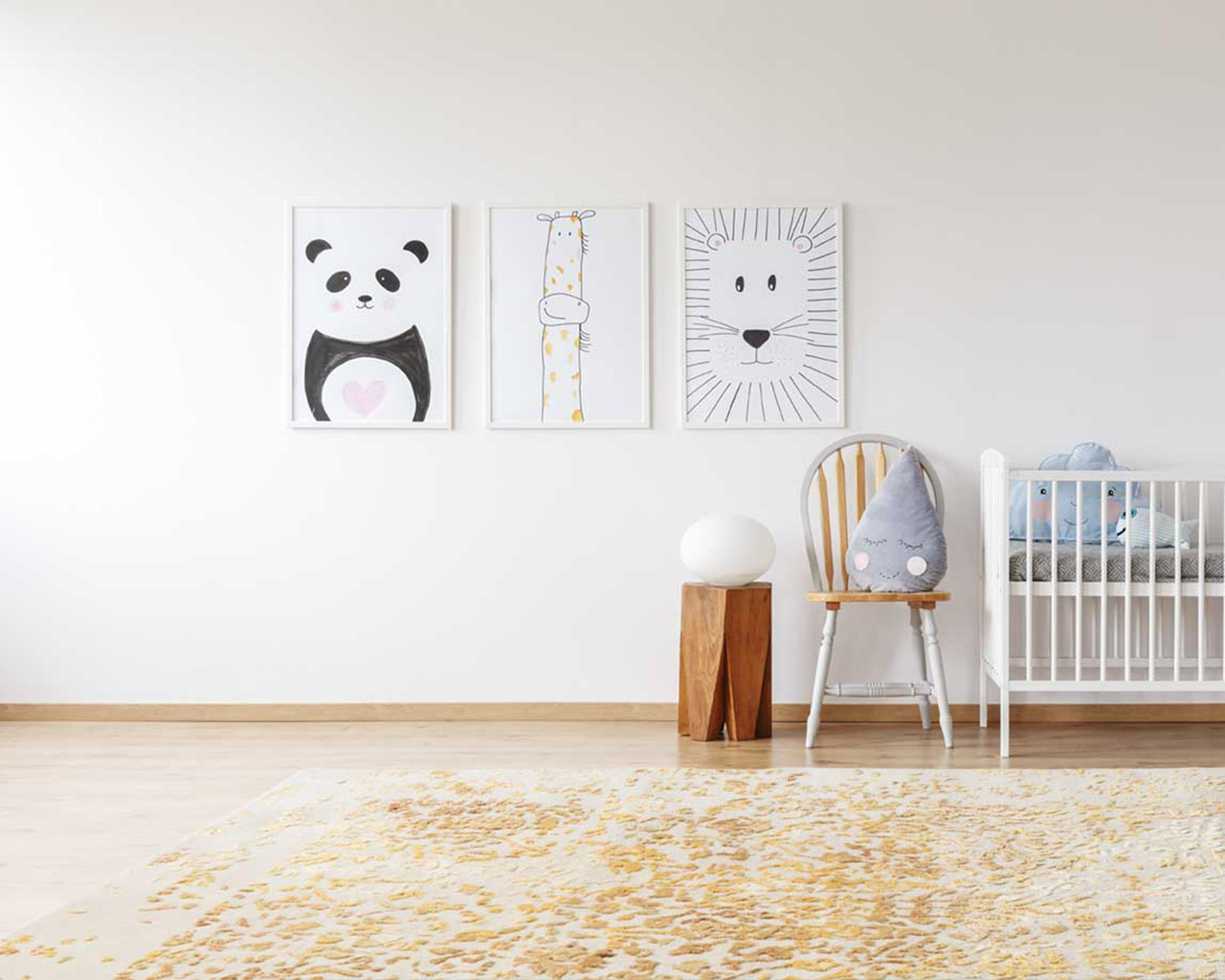 beautiful hand tufted runners kids room cart