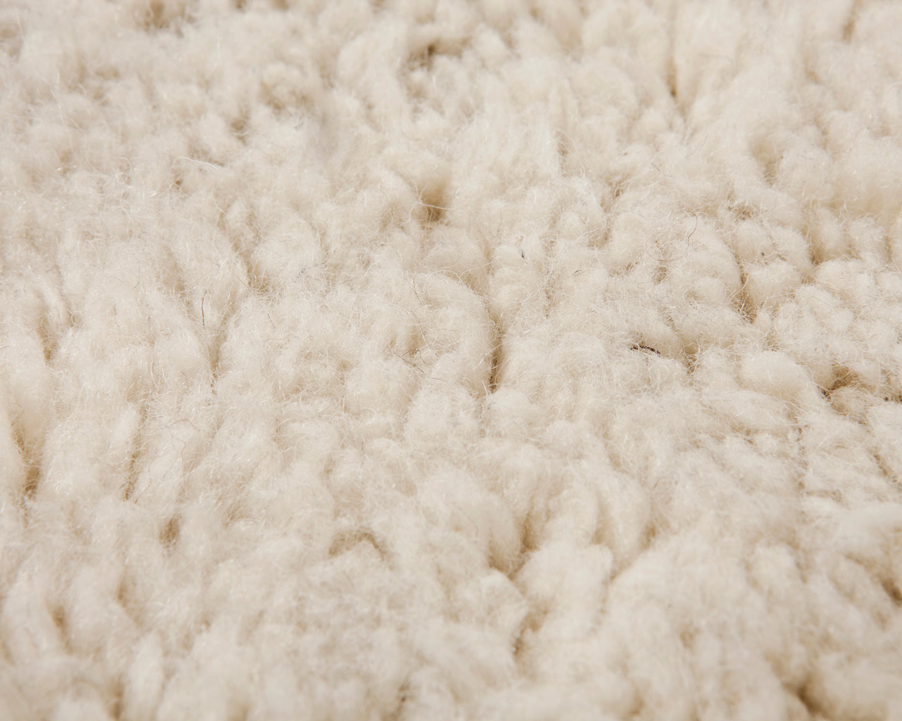 close up beni ourain rug