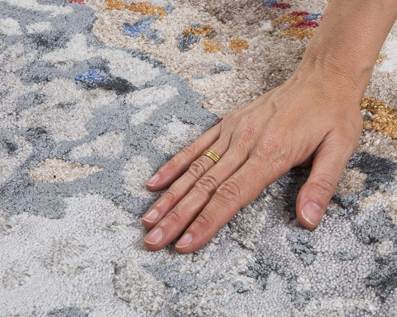 light salmon fresh hand with ring shag area carpets