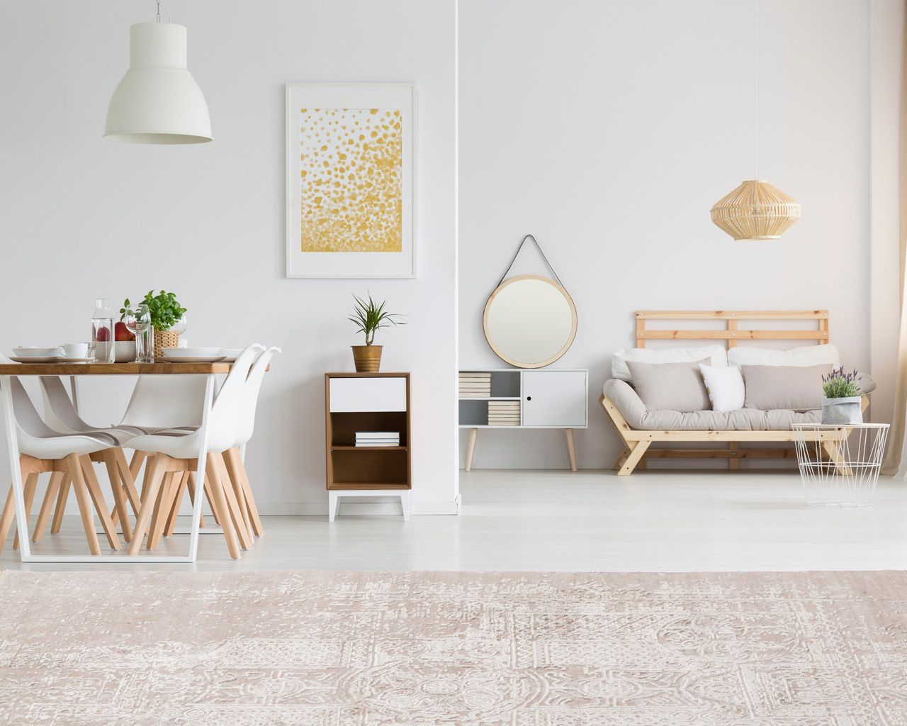 modern area rugs home dining table
