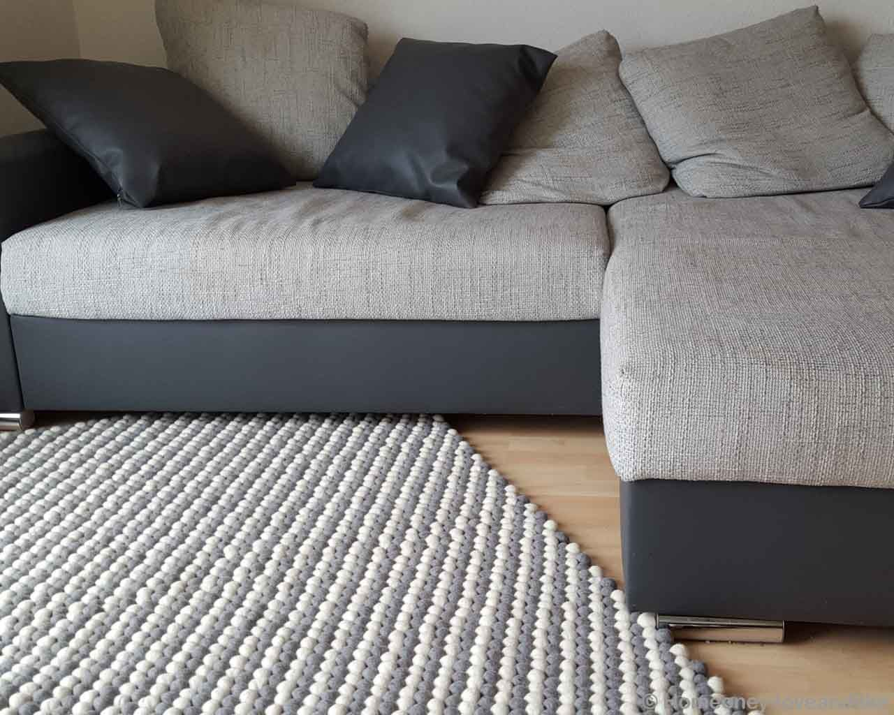 handmade cushions in multiple shades of gray nepal rugs