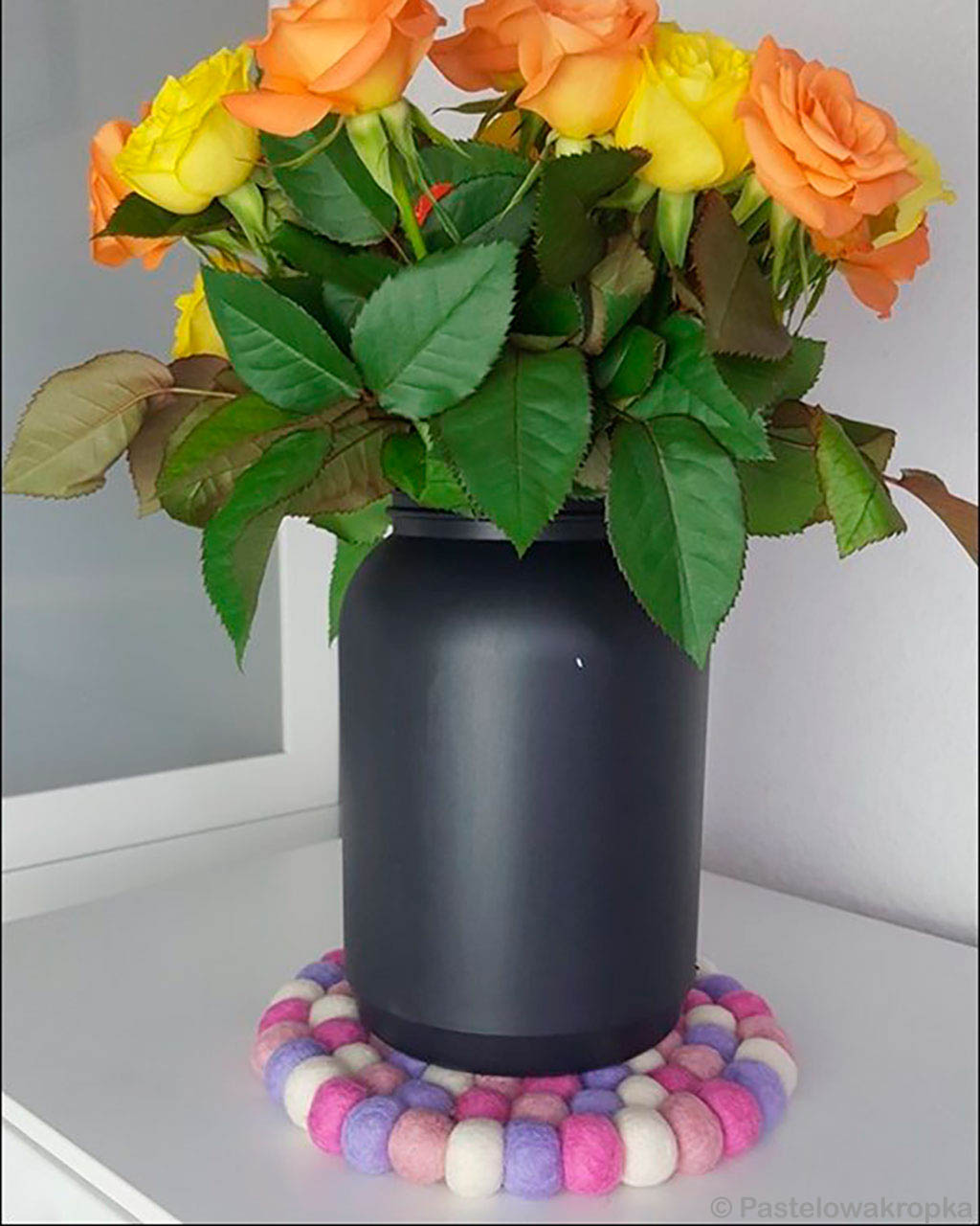 beautiful black vase with flowers from nepal fresh rugs