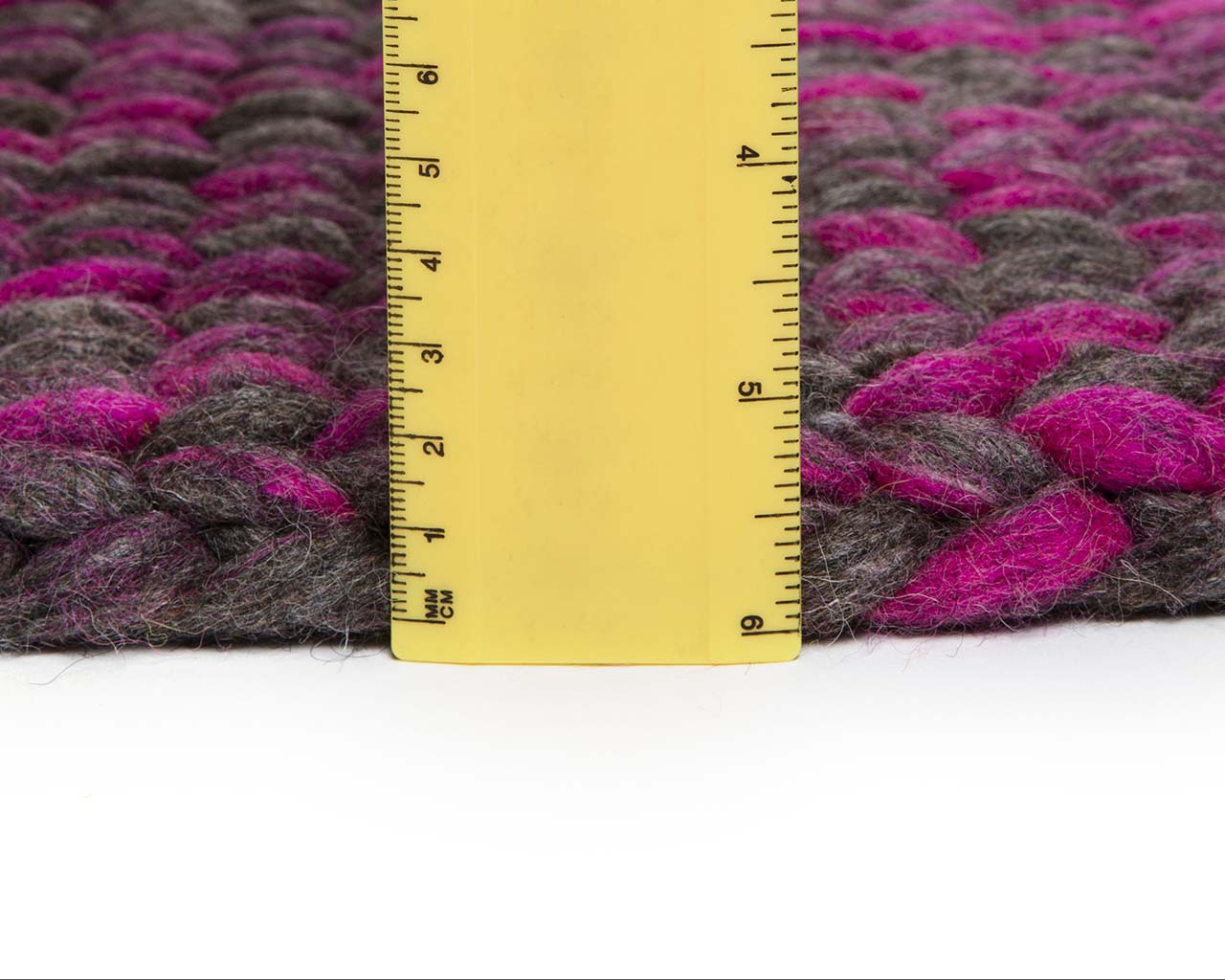 braided measuring knitted slate gray wool big area carpets