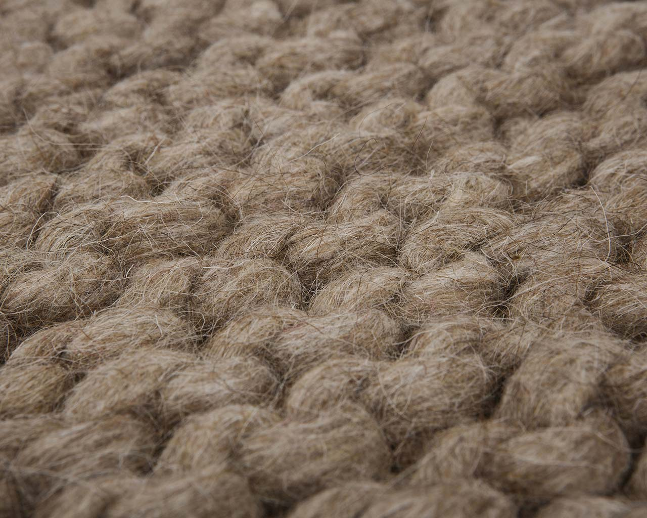 braided soft sandy brown modern rug large