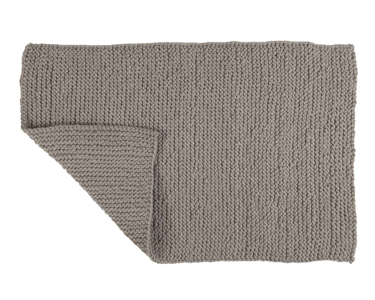 chunky gray wrapped woolen carpets