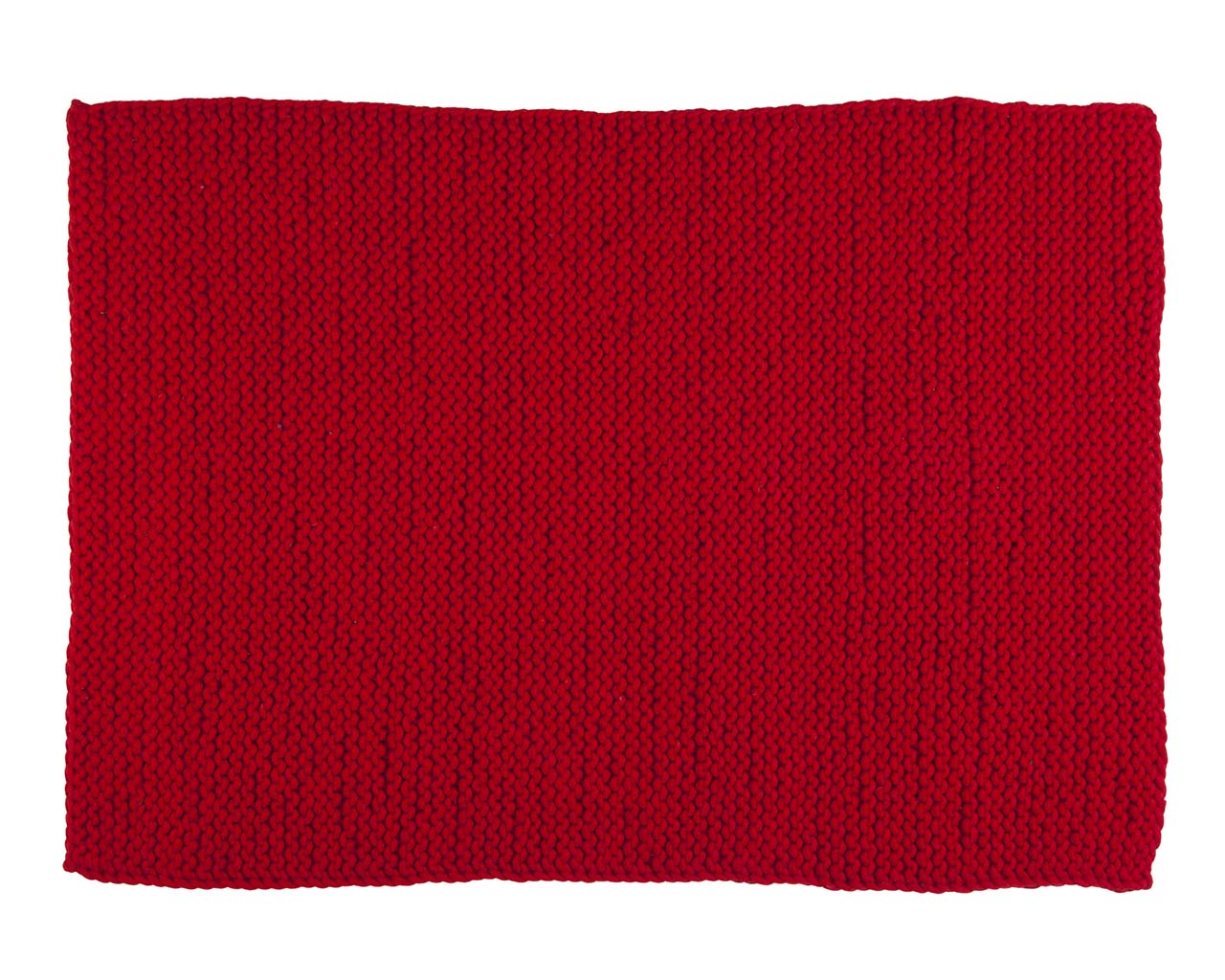 chunky red rectangle woolen carpets