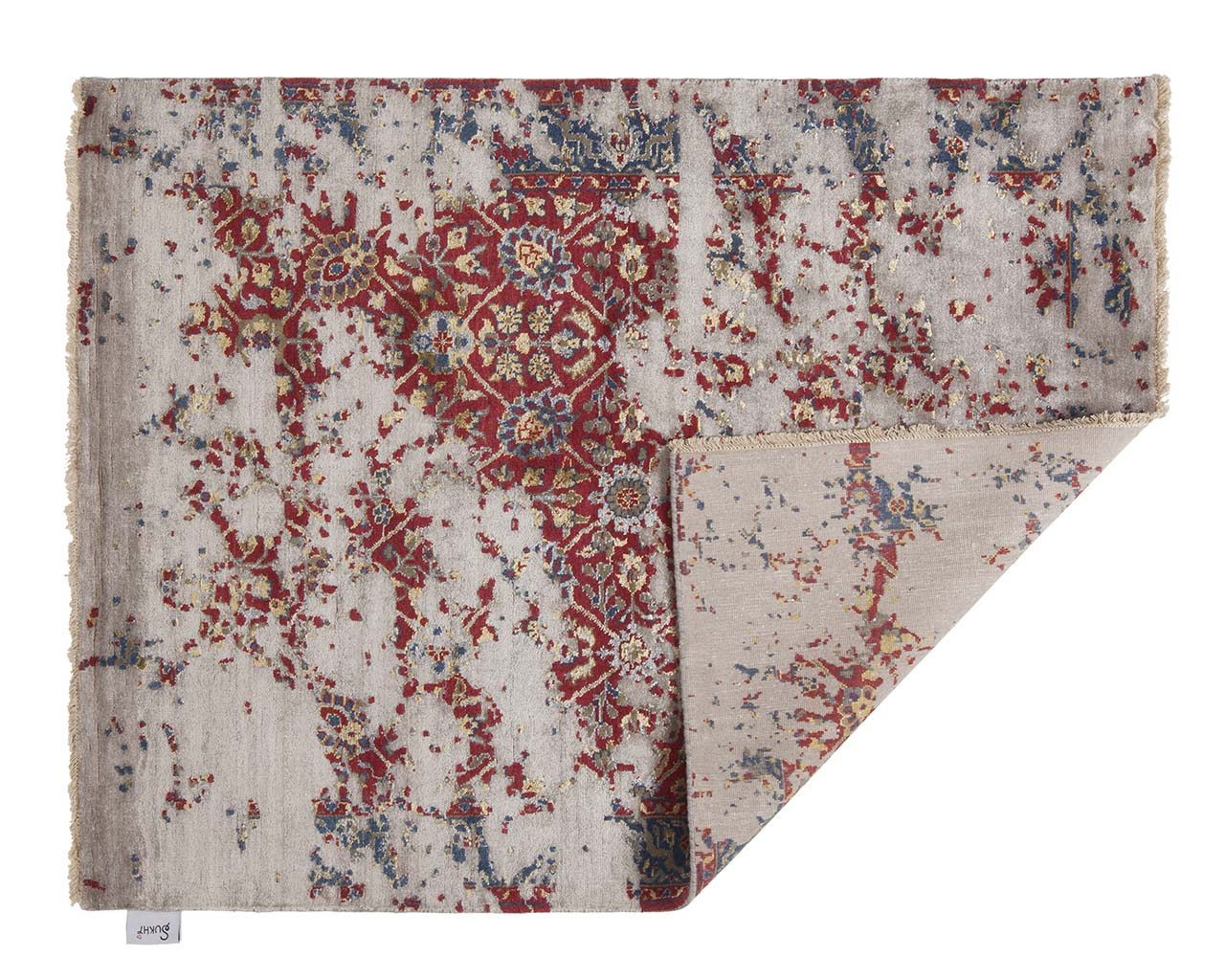 crimson woven hand knotted home goods rugs