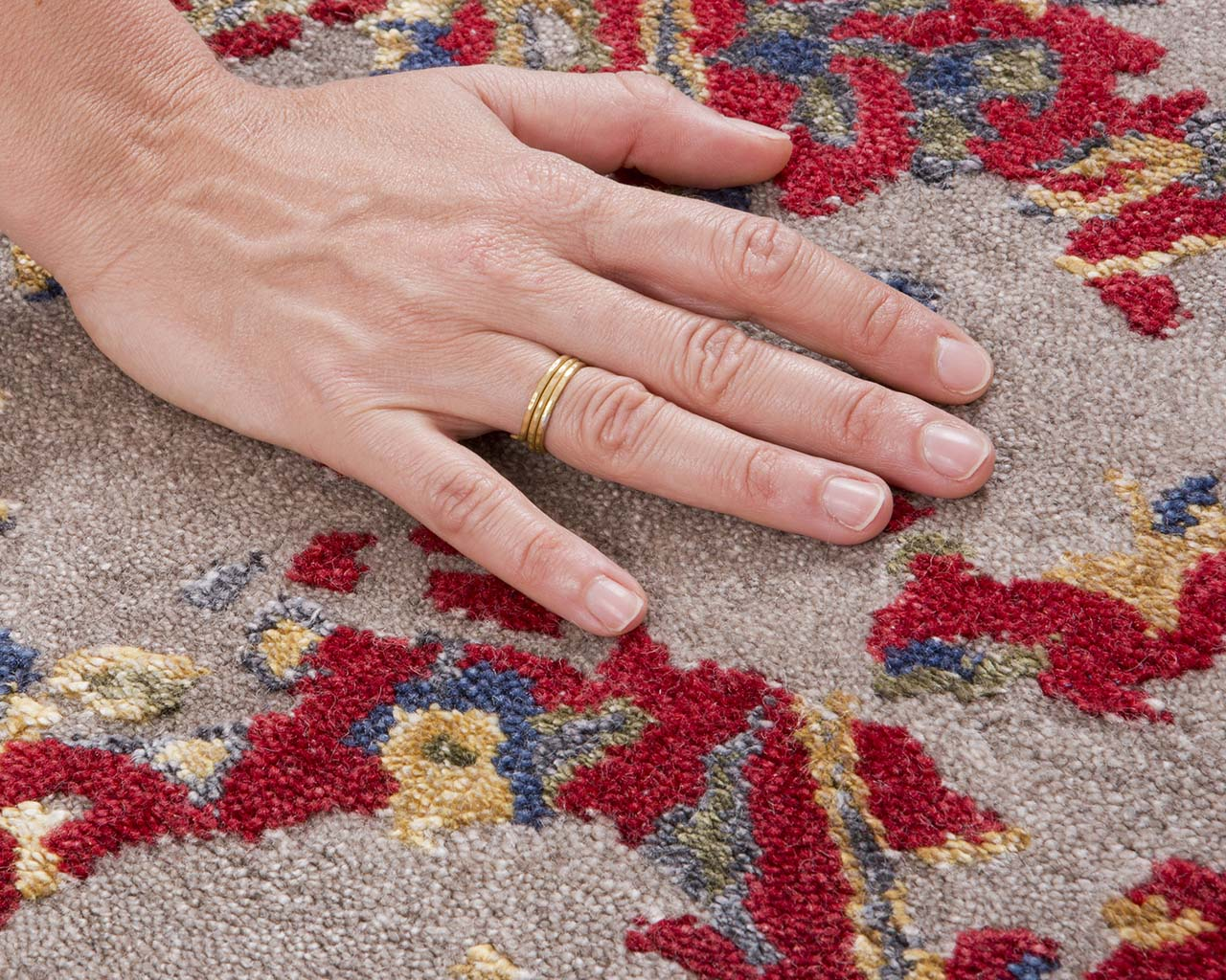 fire brick fresh hand with ring persian rugs for sale