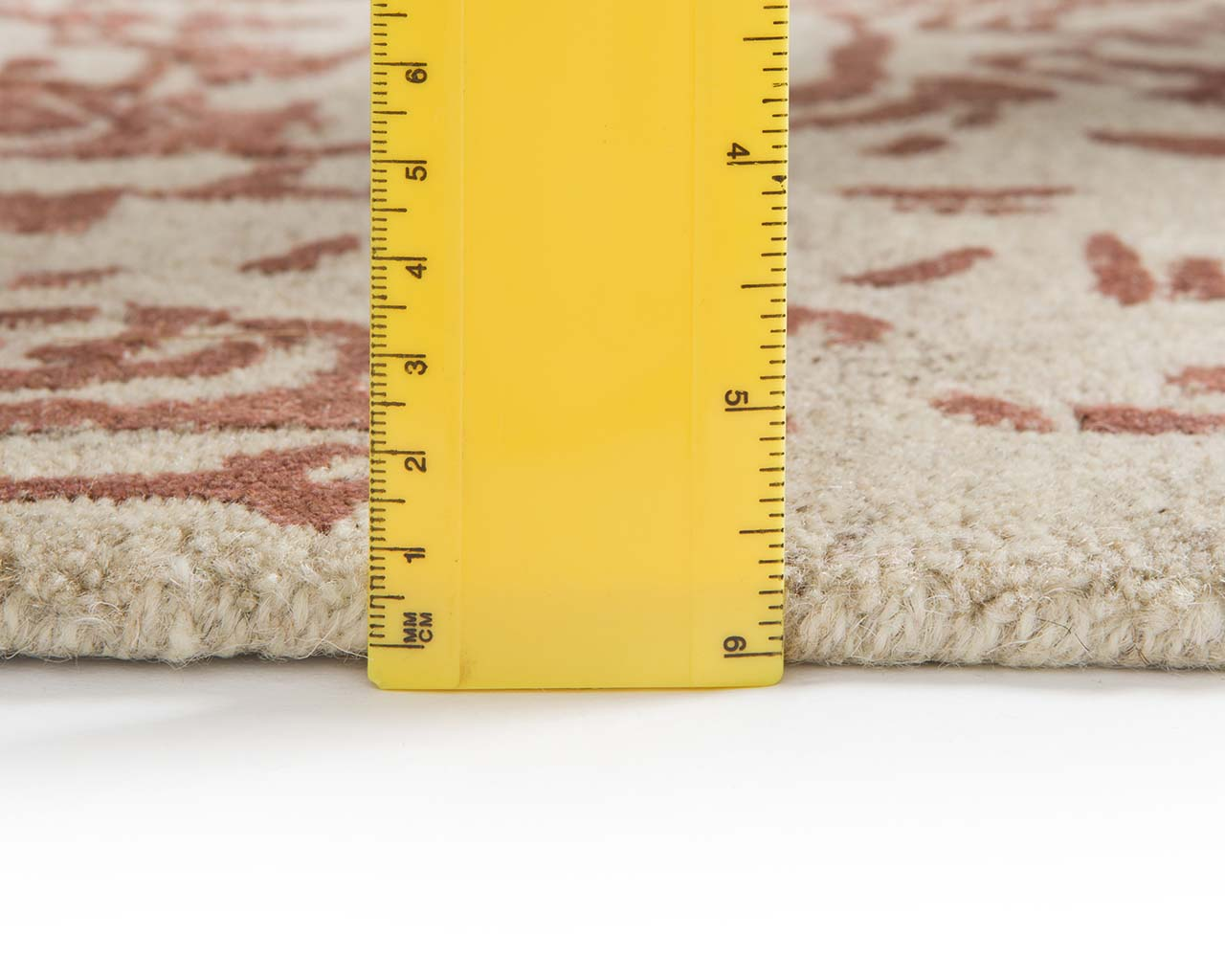 fresh dark salmon modern wool carpets