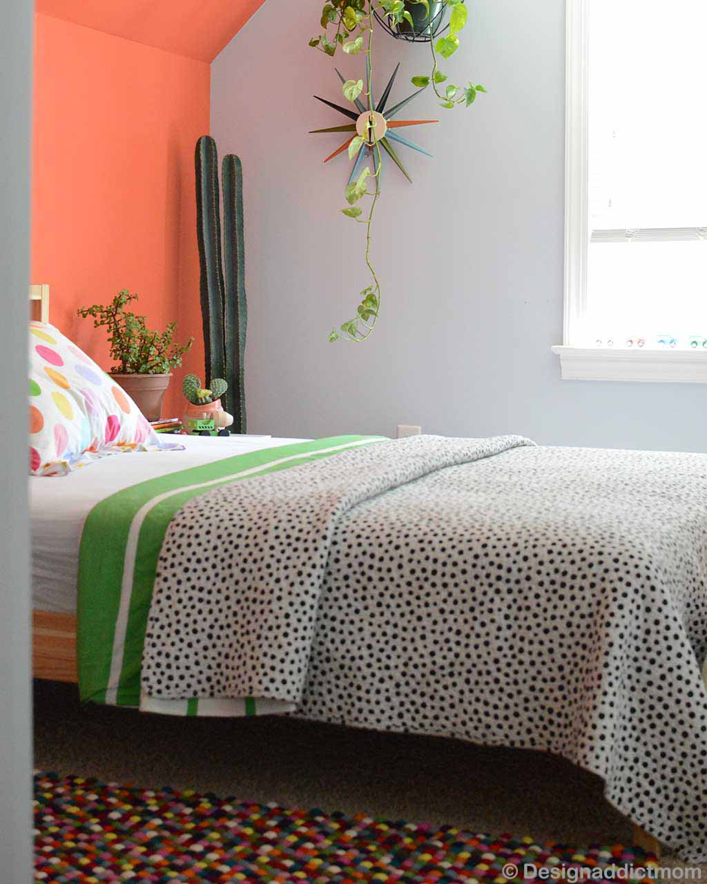 hand knotted bed and wall craft ractangular felt carpet