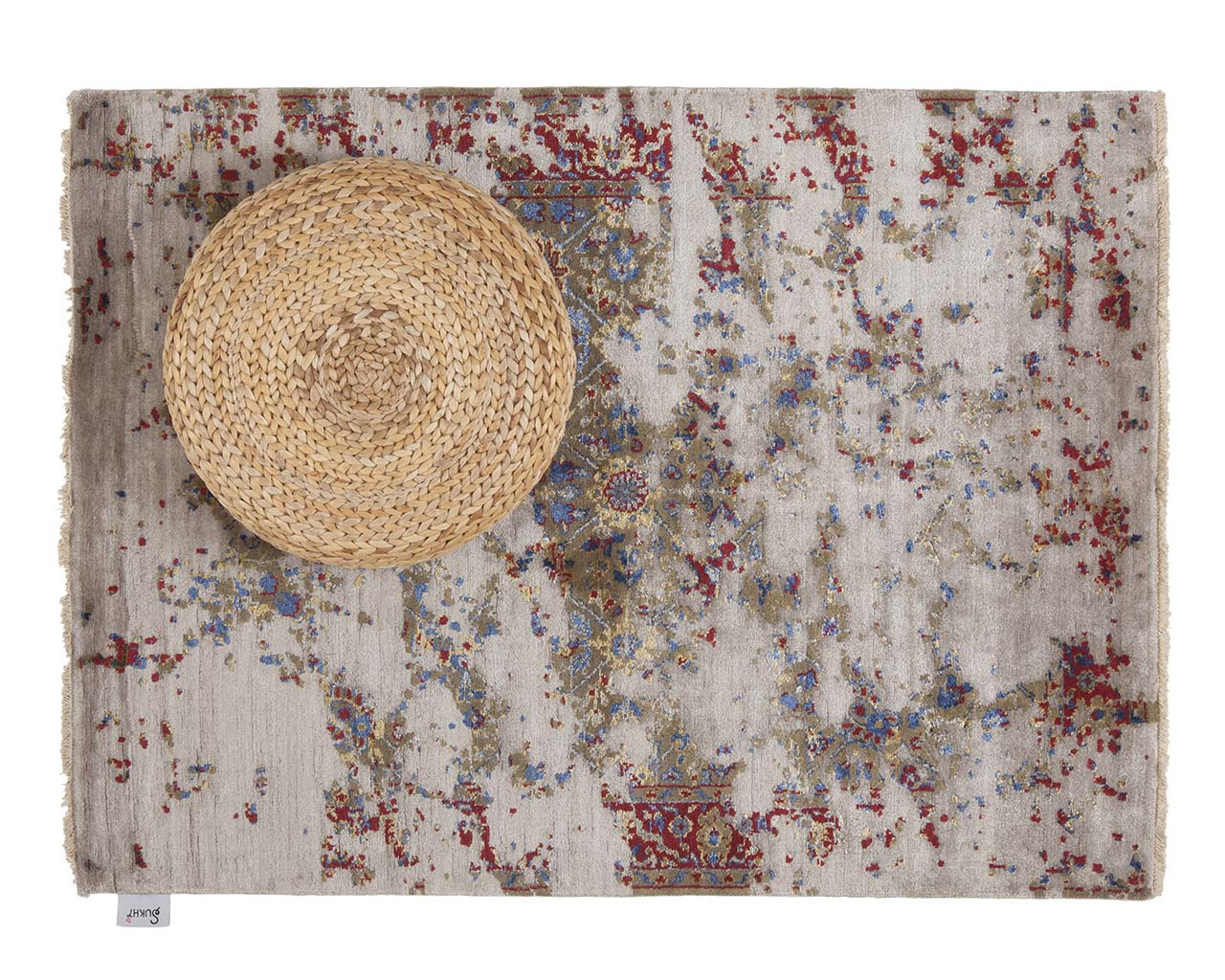 hand knotted teal persian rug runner