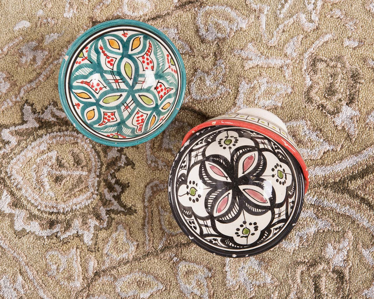 hand tufted moroccan bowl peru contemporary area carpets for sale