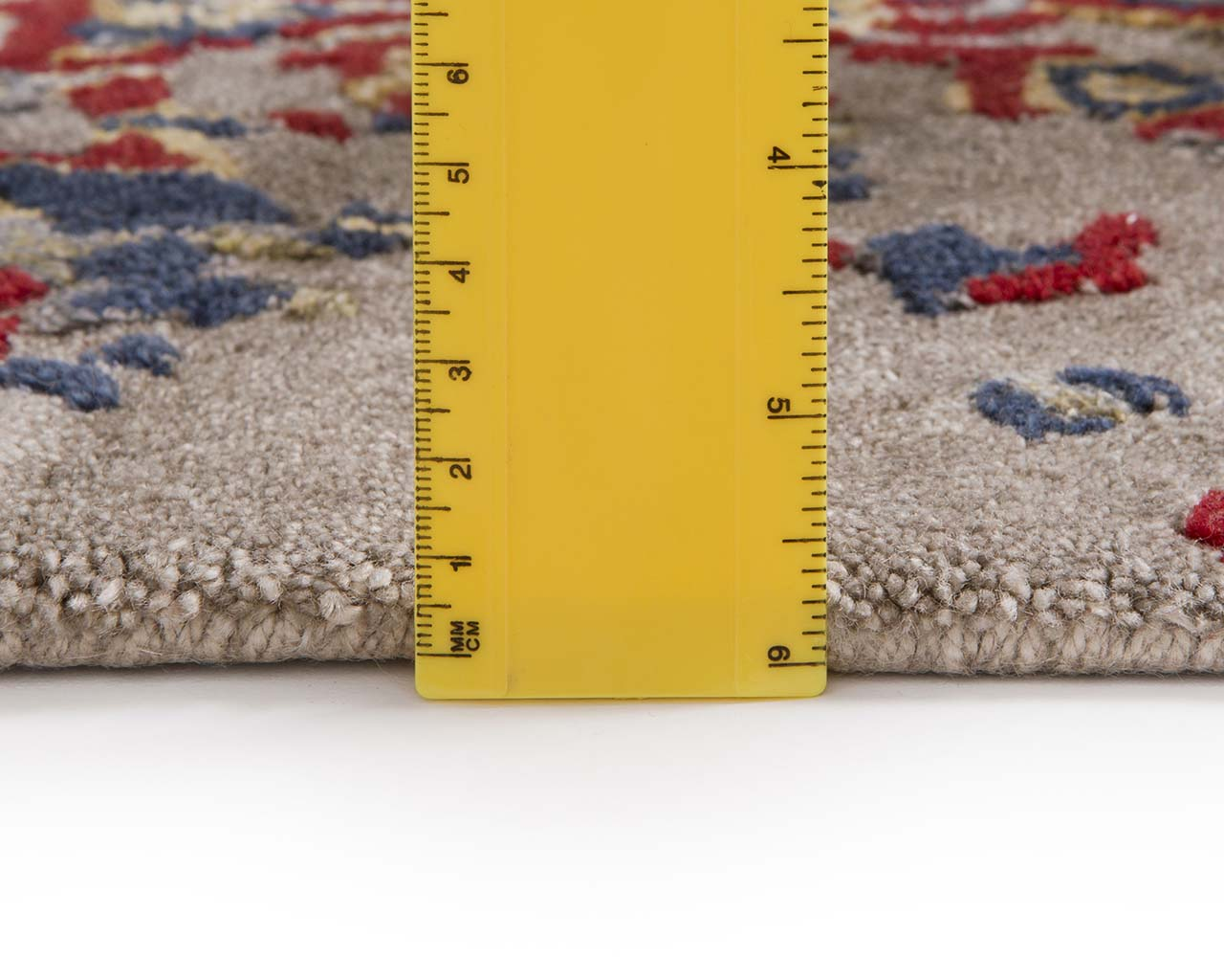 hand tufted ruler dark salmon contemporary bedroom carpets