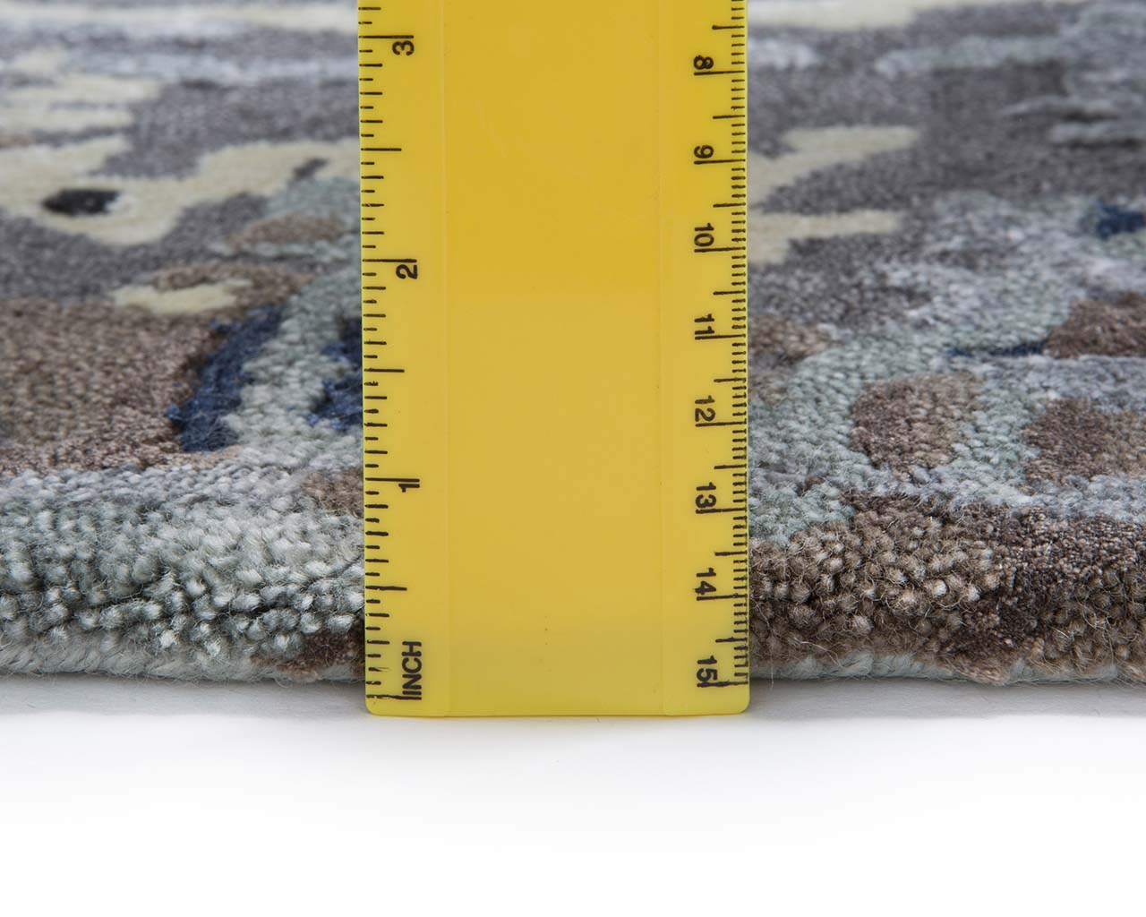 hand tufted white solid color area carpets