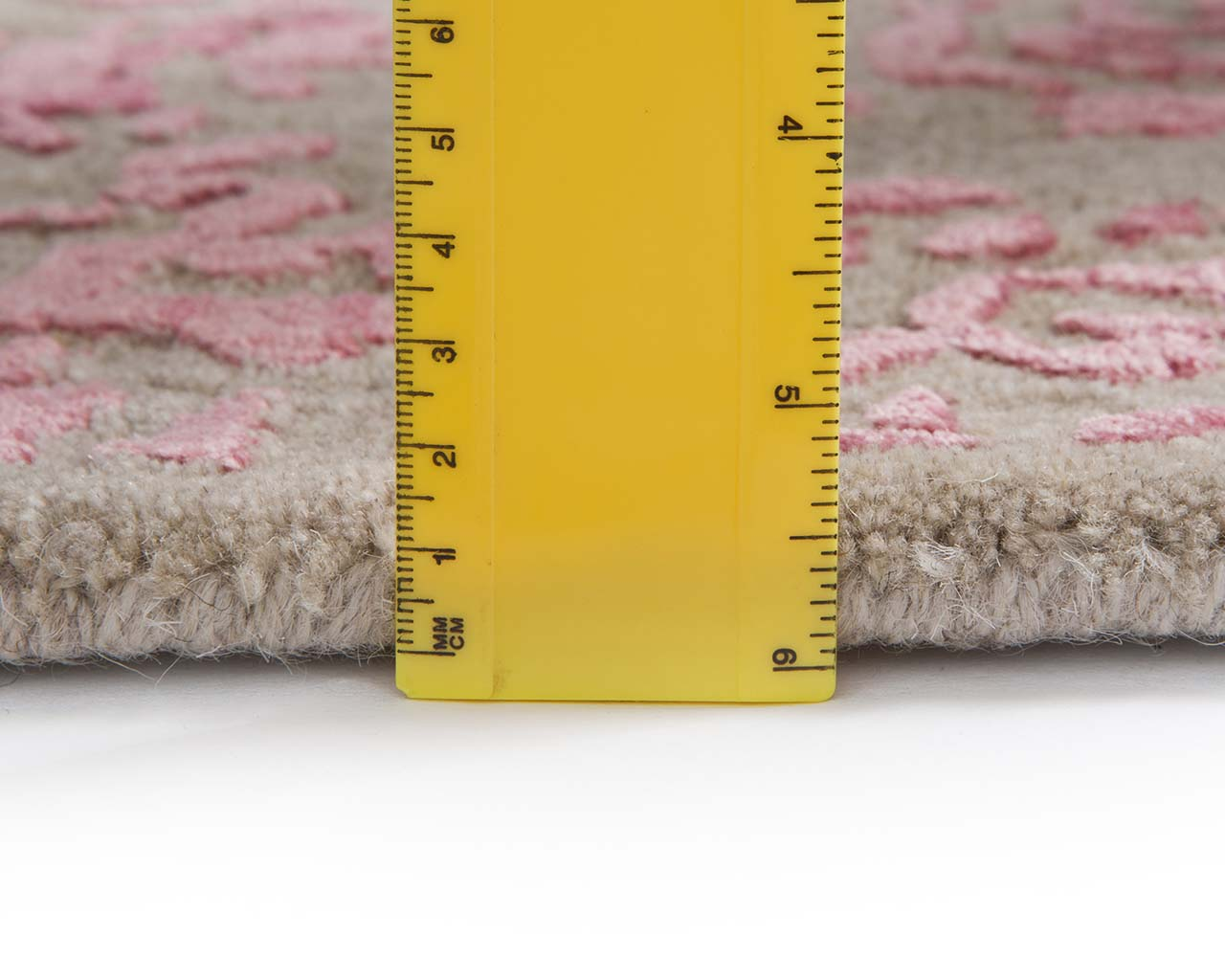 handmade pink contemporary rugs for living room