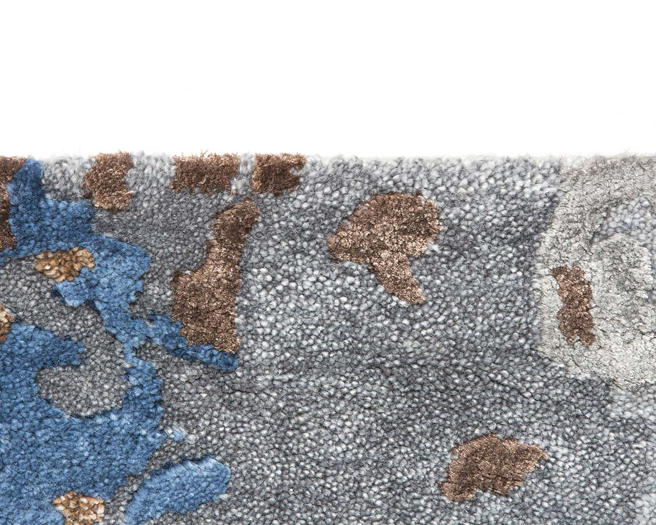 handmade powder blue modern contemporary carpets