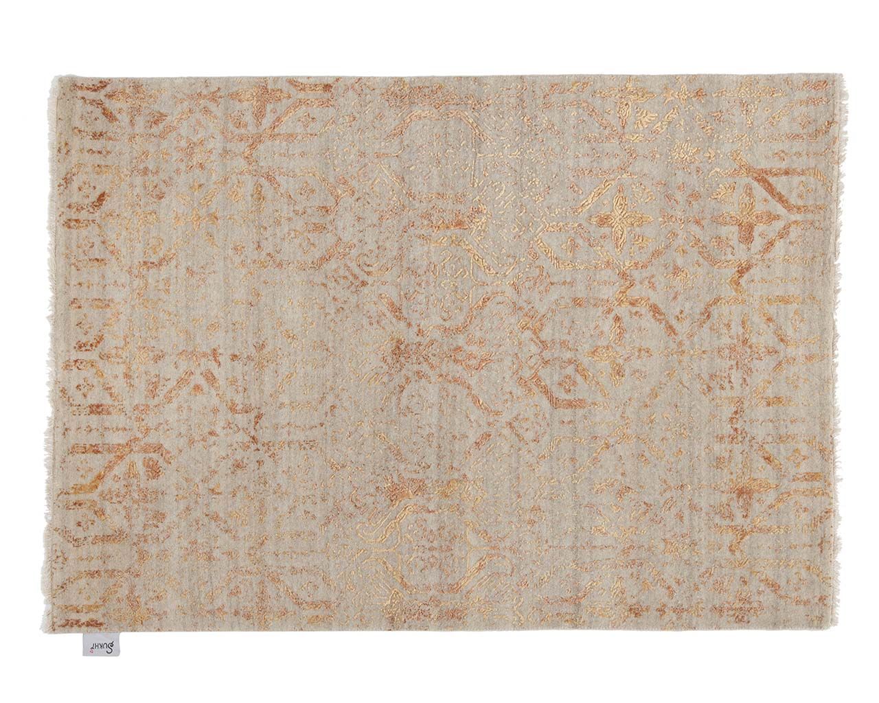 handmade woven gold affordable oriental rugs