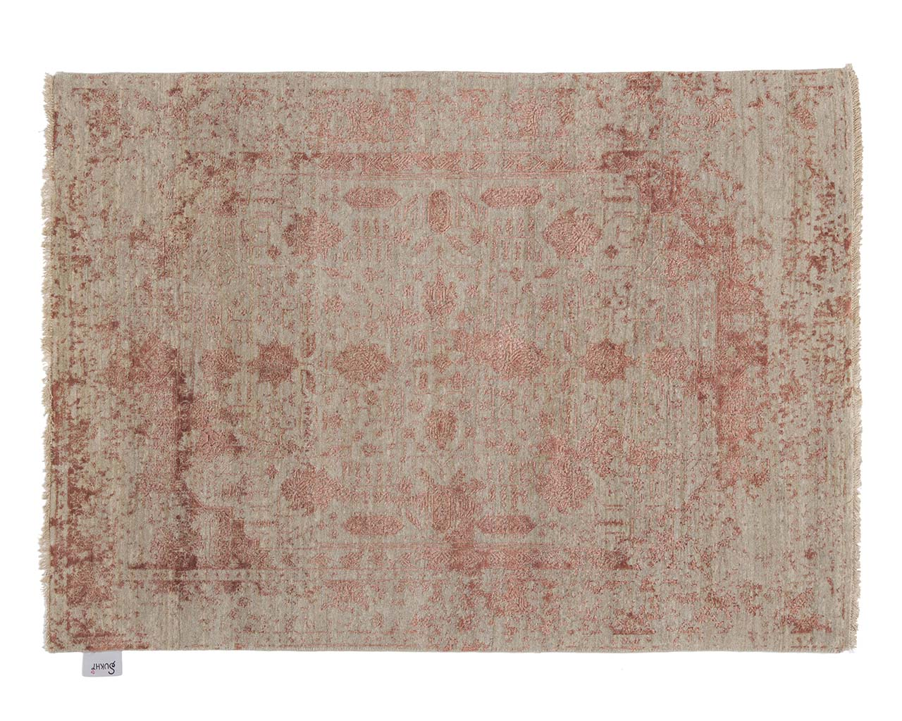 indian woven pink modern wool area rugs