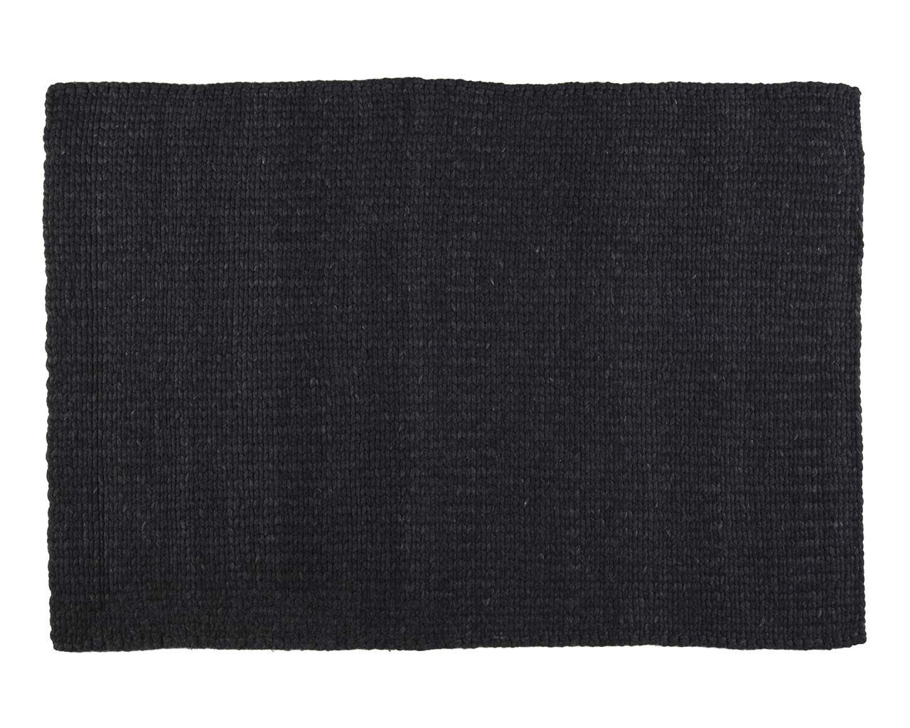 knitted black rectangle wool real oriental carpets