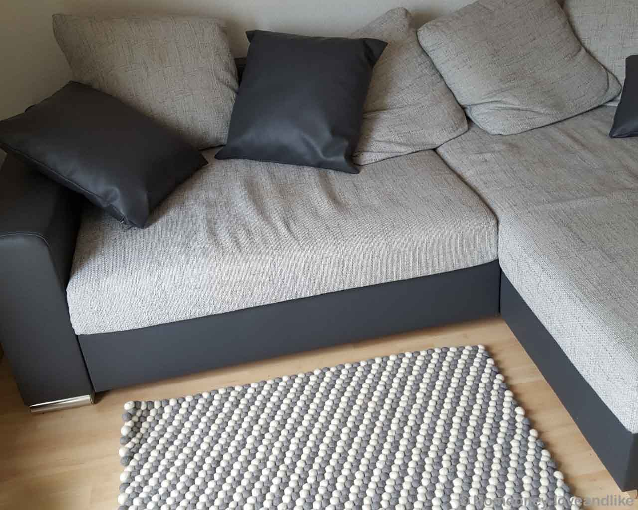 light gray sofa with dark base fresh designer indoor rug