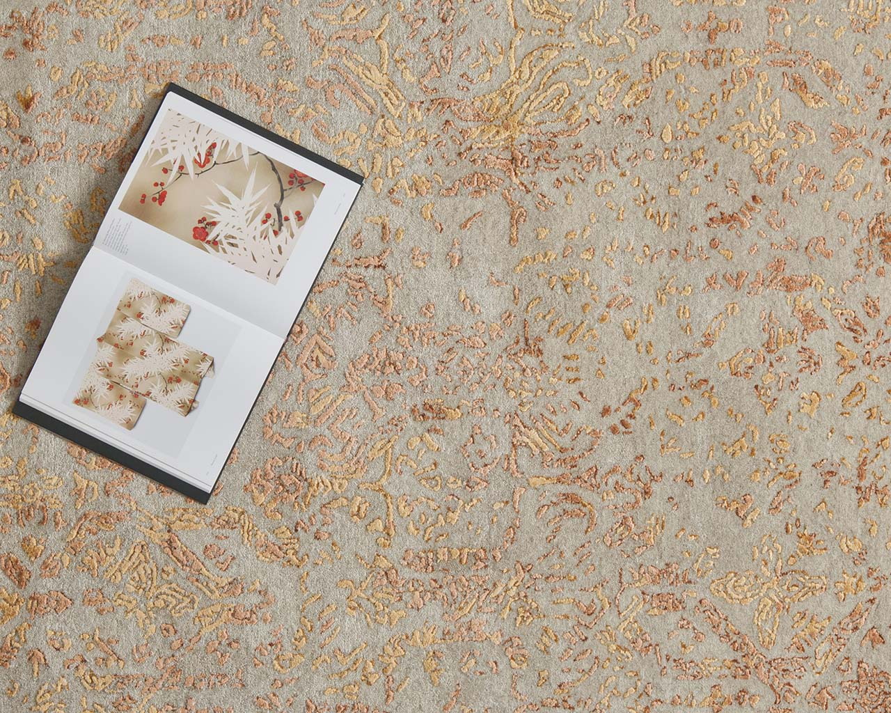 luxurious art book blanched almond designer carpets for less