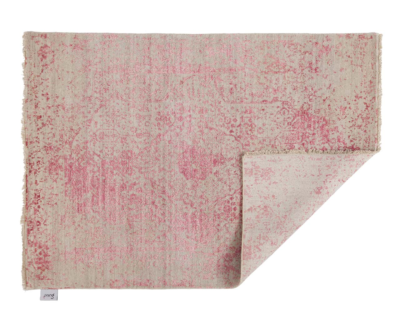 luxurious light pink oriental looking rugs