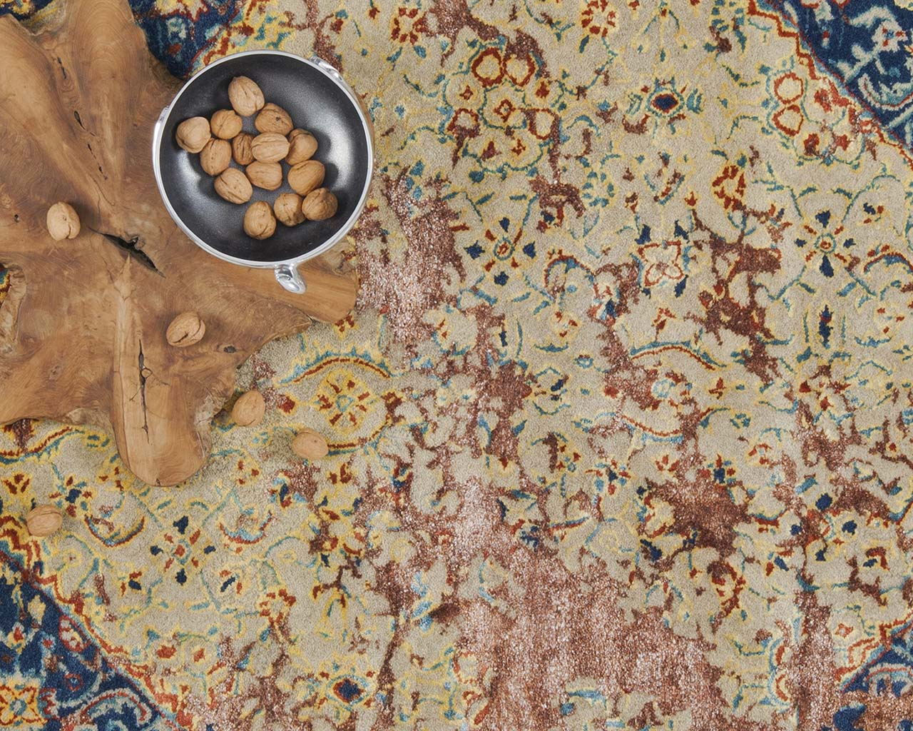 luxurious moroccan bowl blanched almond fine persian rugs