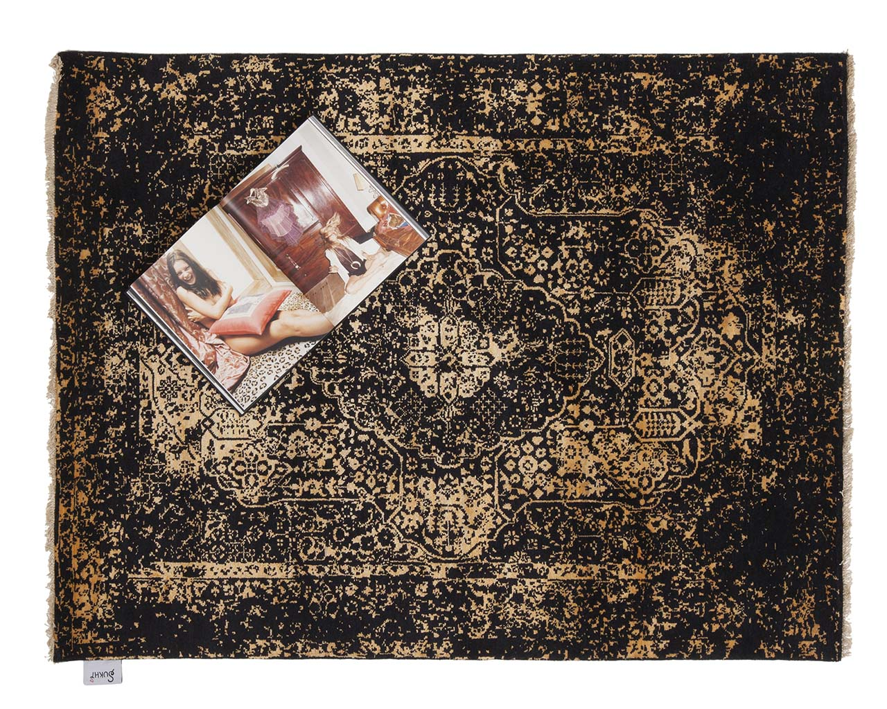 luxurious woven light yellow art book new persian rugs