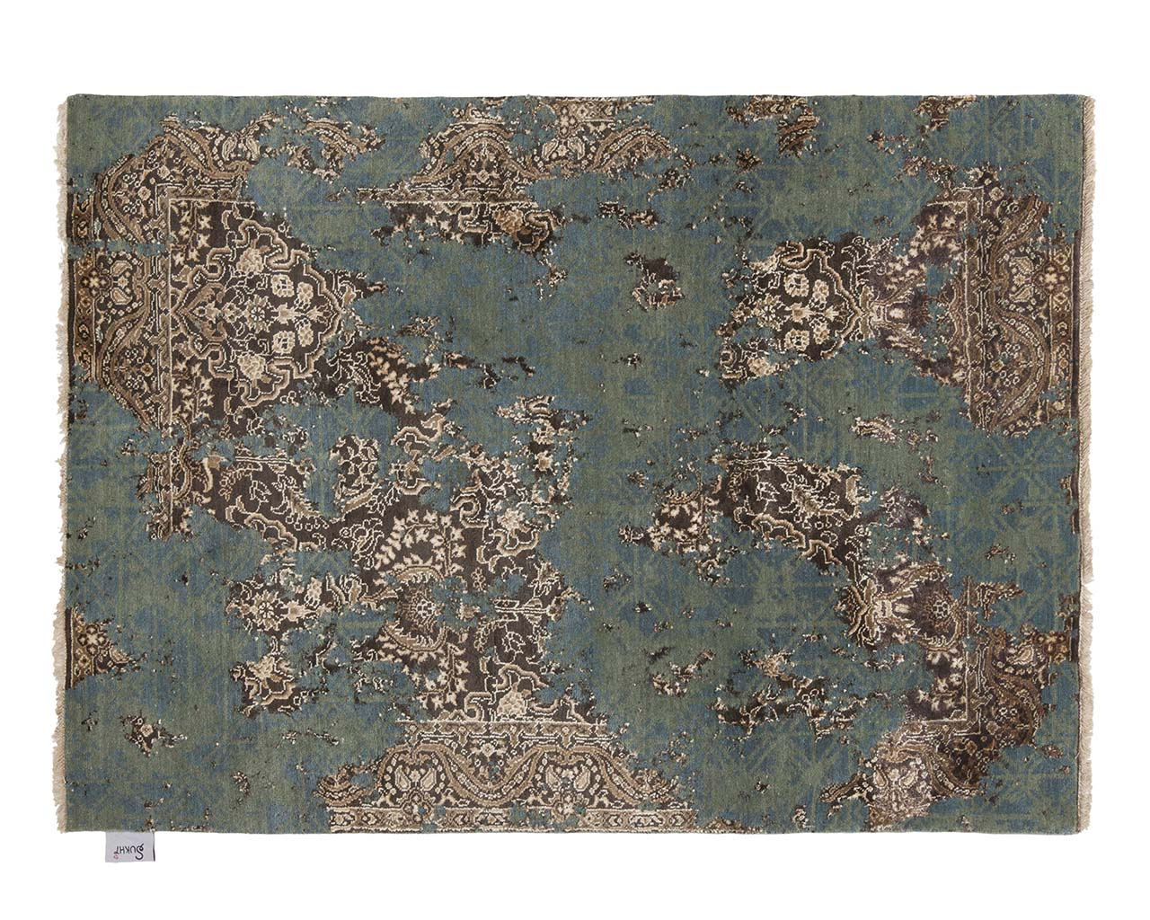 luxurious woven pale green cotton area rugs