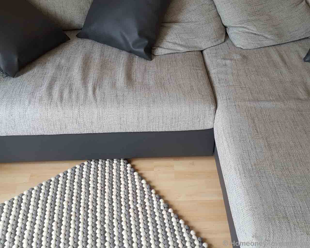 multiple cushions on sofa nepalian made modern small rug