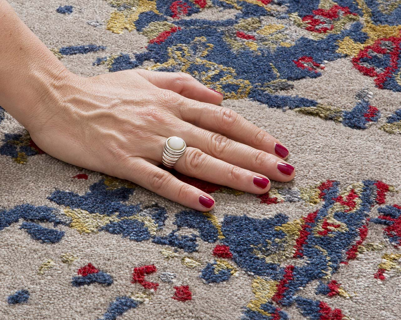 navy luxurious hand with nail polish buy contemporary carpets