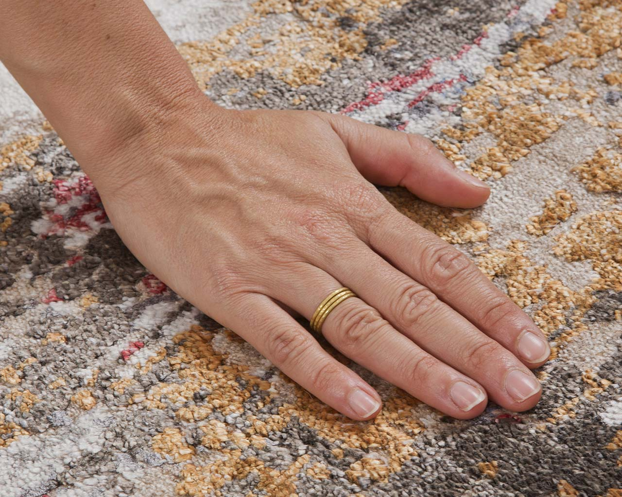 oriental aqua hand with ring contemporary modern area rugs