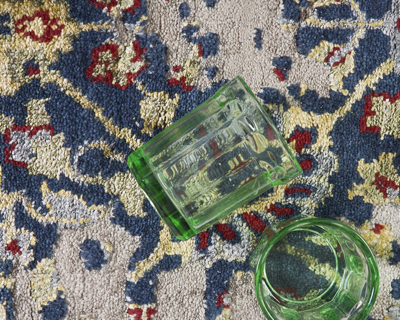 pale turquoise woven indian green glass area rugs