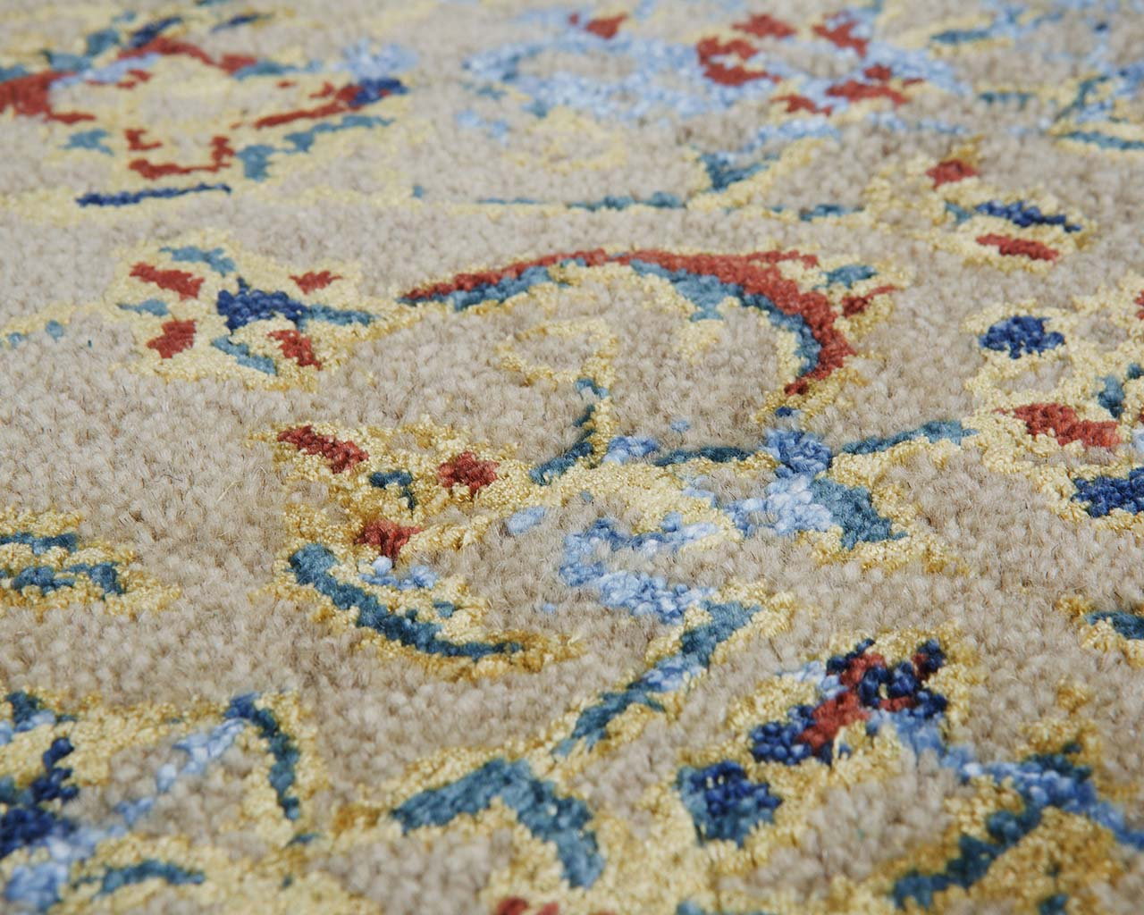 rosy brown hand tufted large contemporary carpets