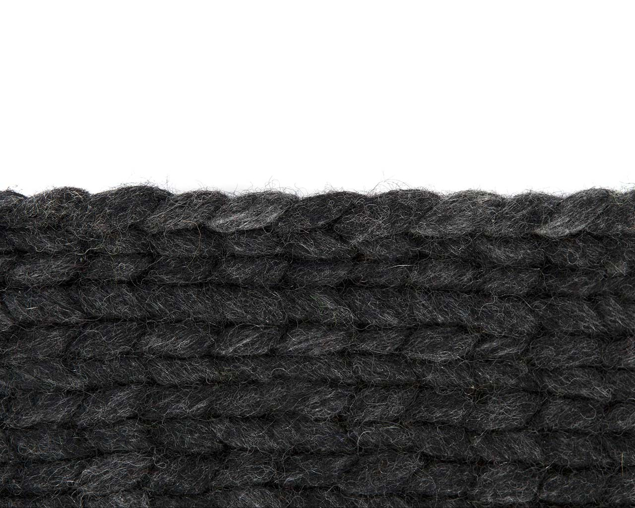 slate gray knitted braided soft wool classroom rugs