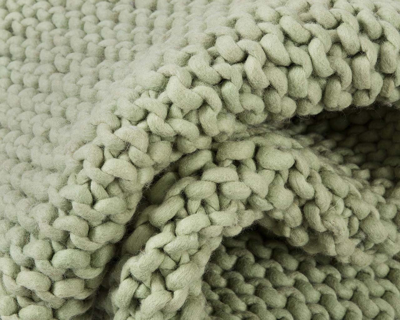 soft braided chunky green living room carpet