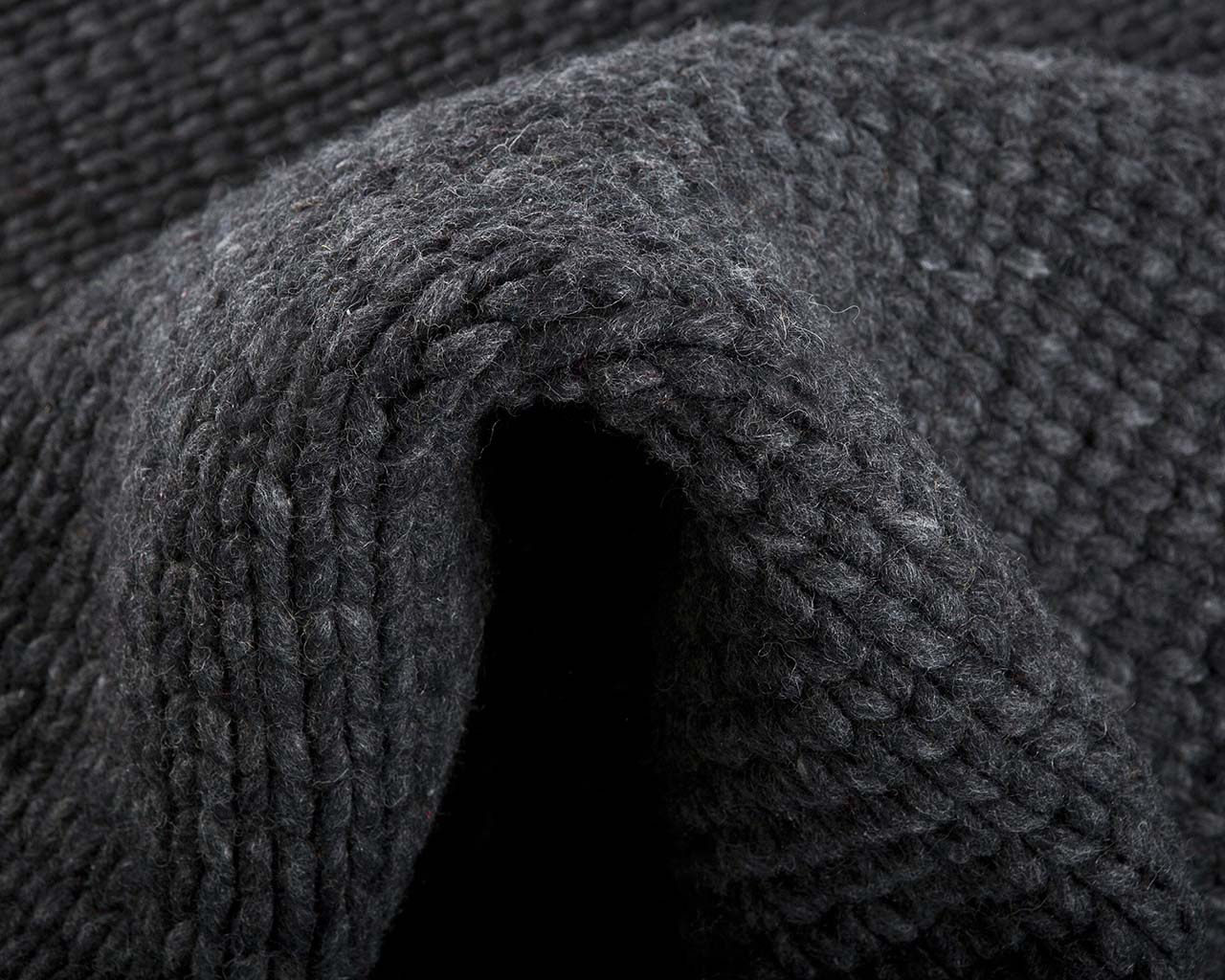soft braided knitted dim gray wool wool rugs for sale
