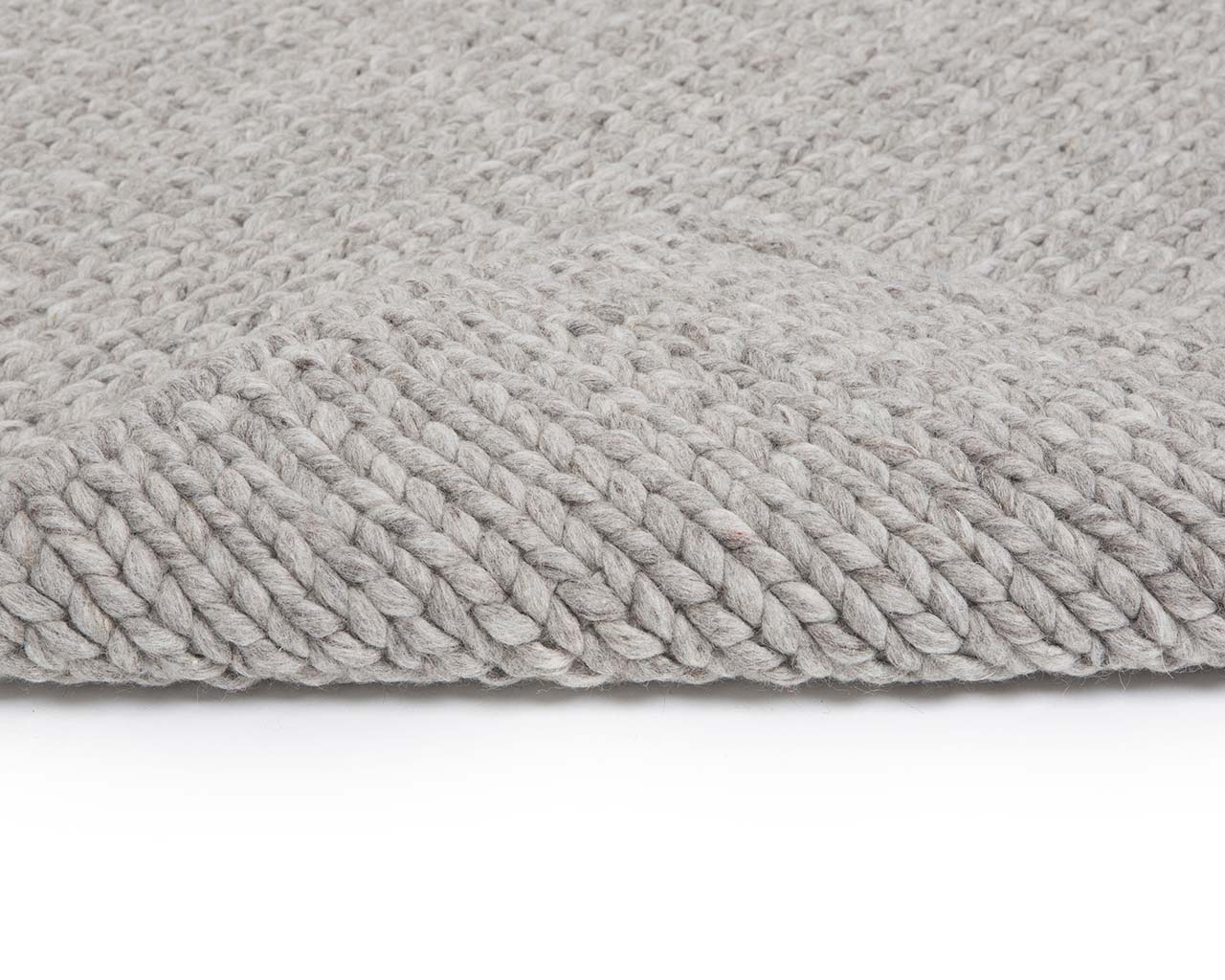 soft knitted gray wool large rugs for sale