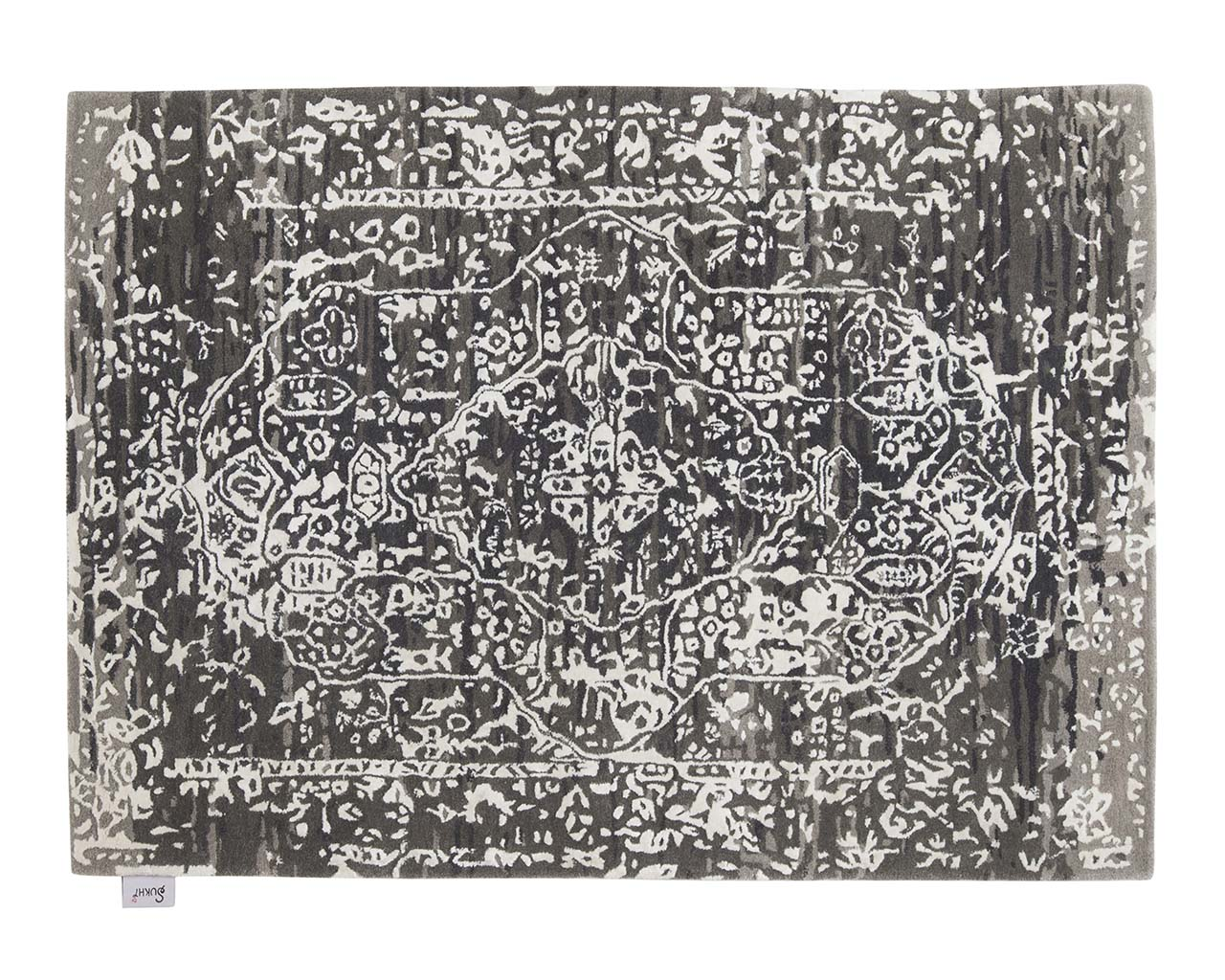 tufted rectangle black and white oriental weavers carpets