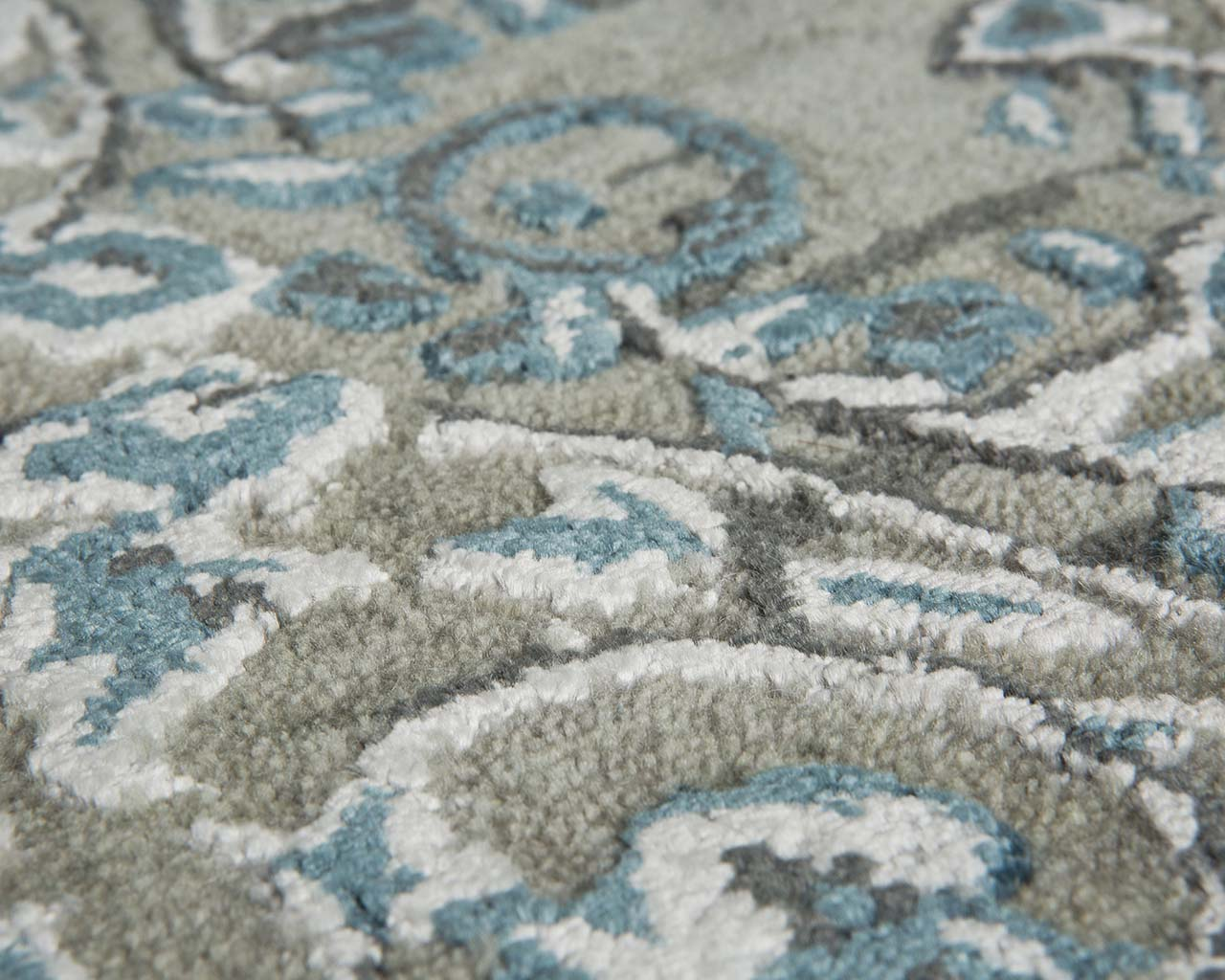 turquoise fresh hand tufted the rug shop