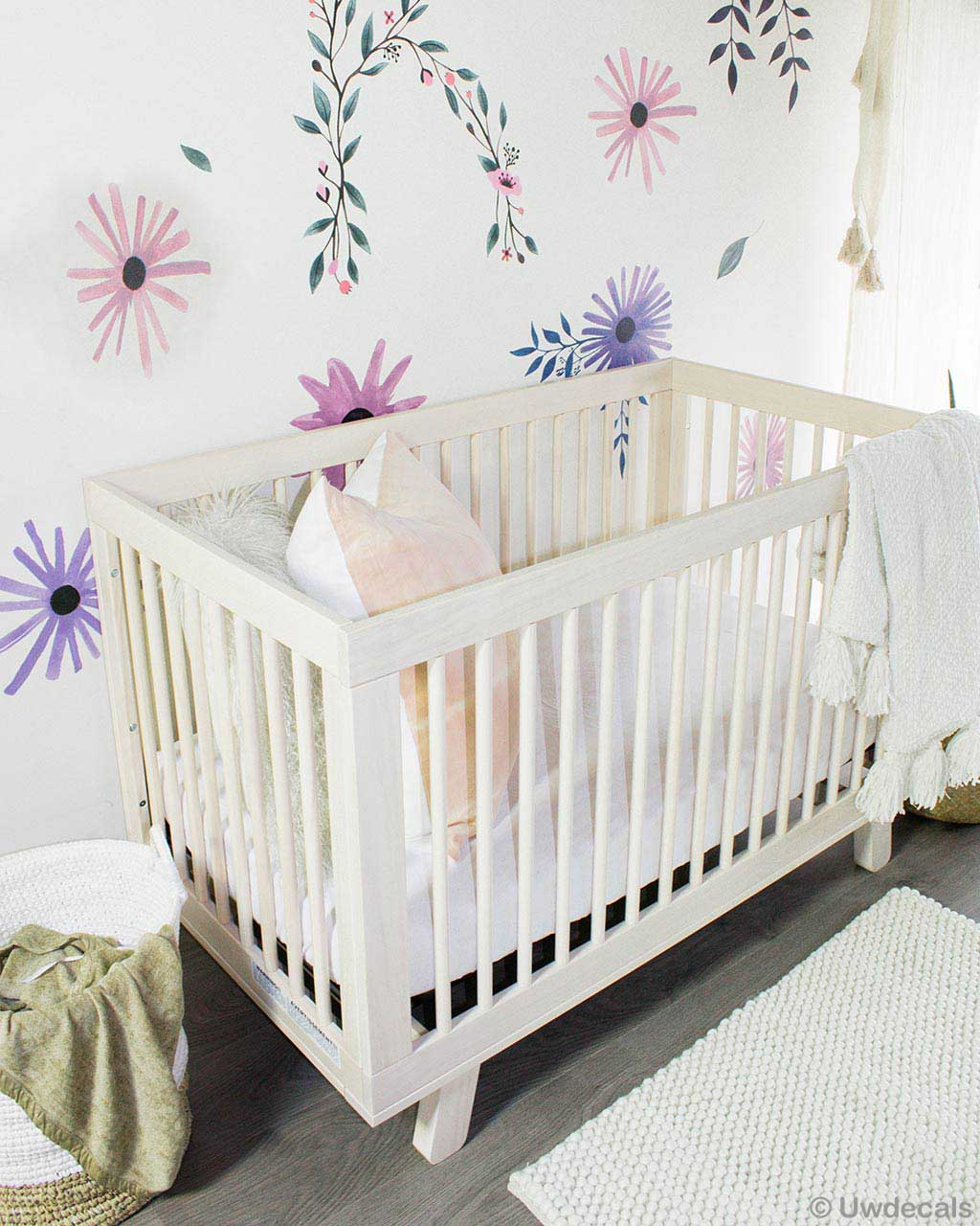 white baby cart india modern felt accent rug