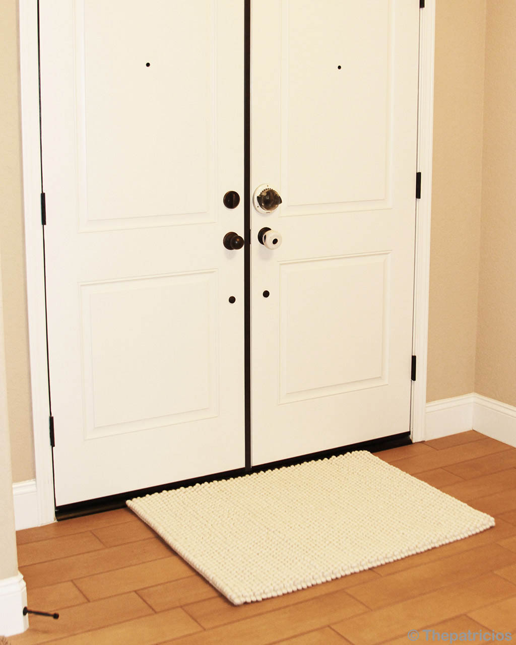 white doors indian traditional rectangular felt rugs