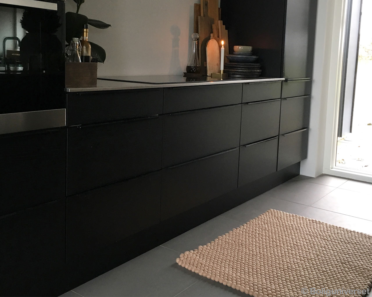 woolen black cabinet and candle nepal contemporary colorful rugs