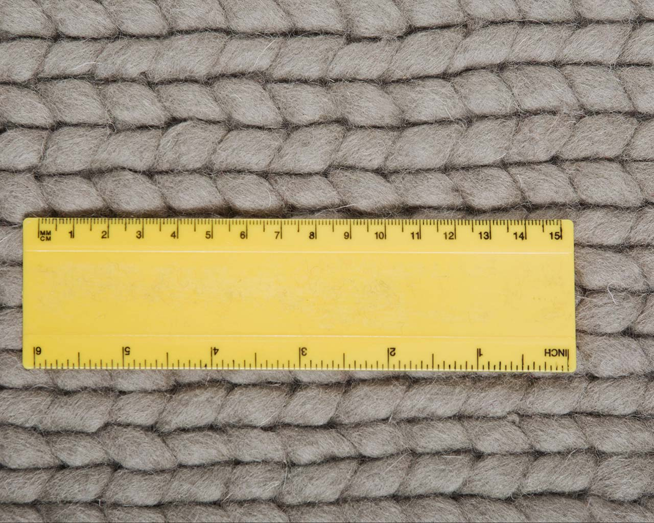 woolen gray knitted measuring fireplace rugs