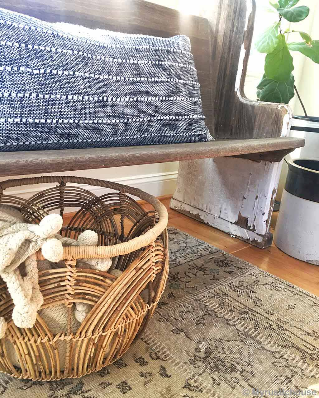 woolen with basket and pillow traditional cheap area rugs