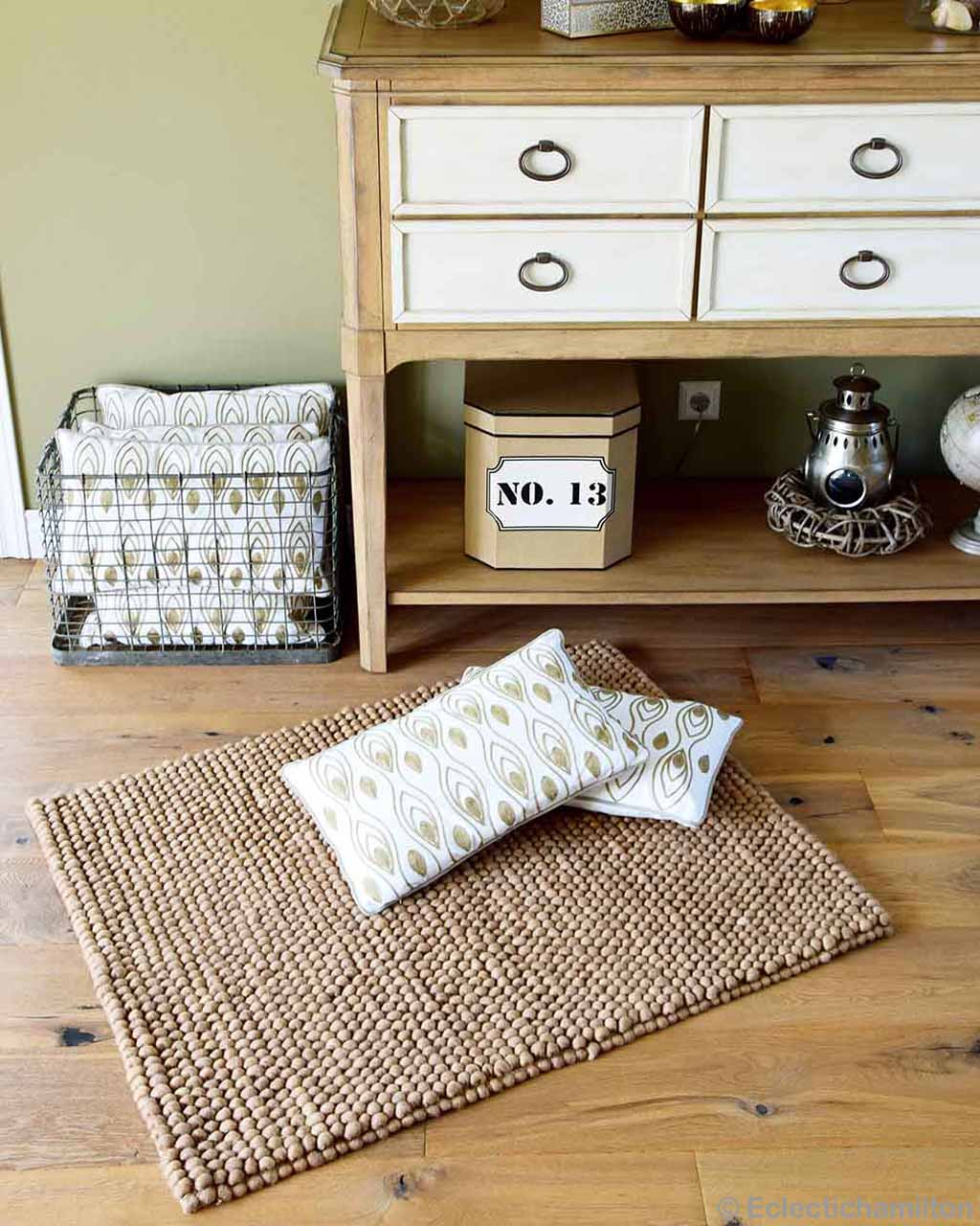 woolen wooden chest asian modern brown floor rugs