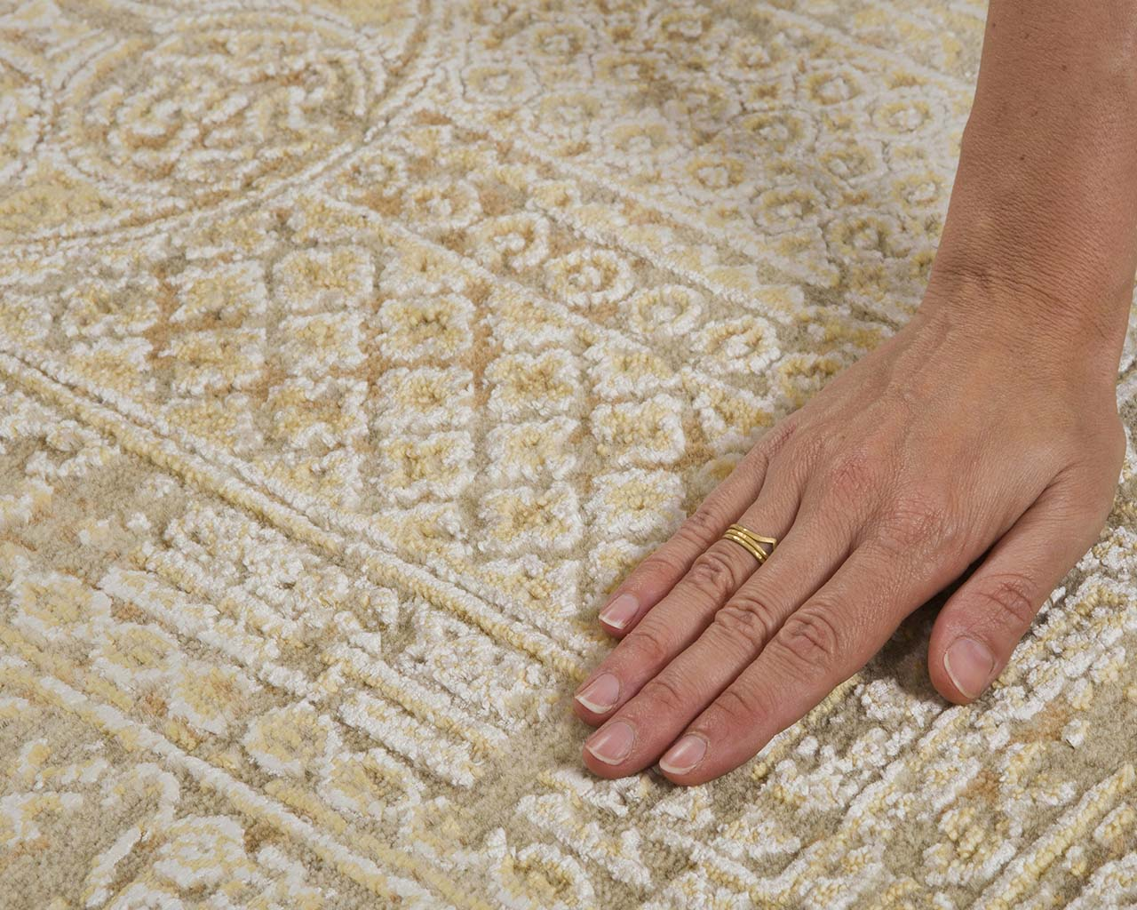 woven alice blue hand with ring contemporary kitchen rugs