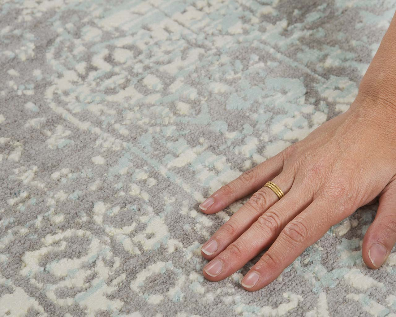 woven indian alice blue hand with ring buy persian carpets