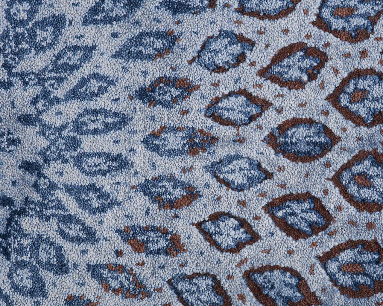 woven indian light blue affordable modern carpets